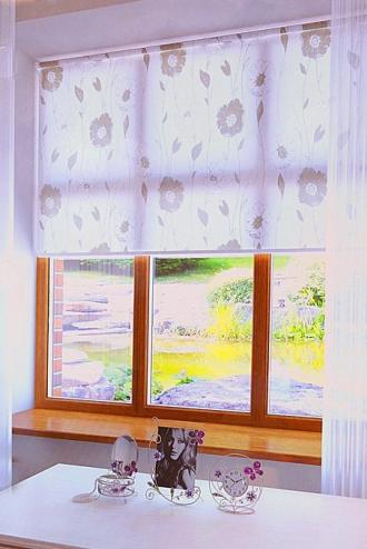 Купить рулонные шторы D-25 в Иркутскее