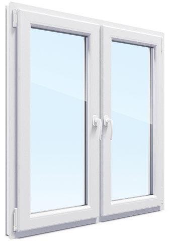 Двухстворчатое тихое окно