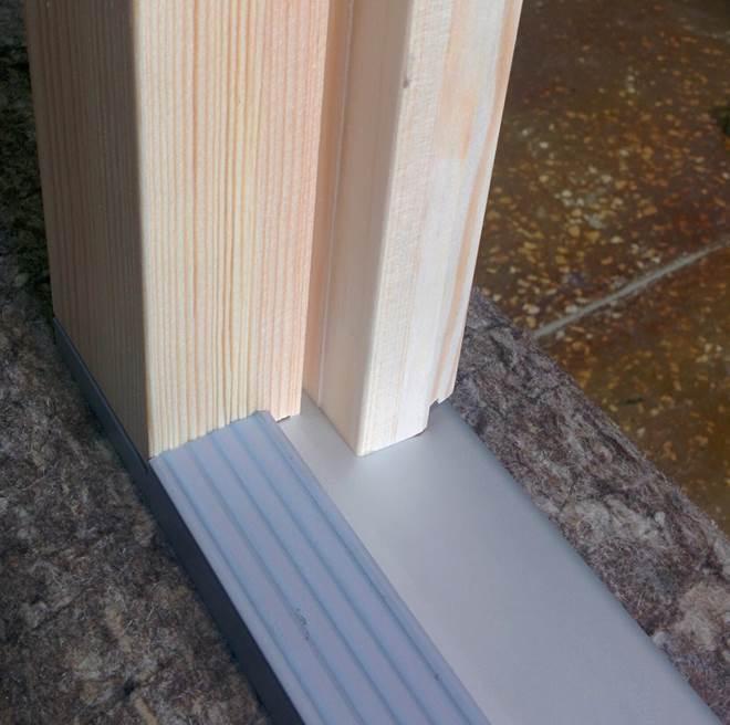 Пример с деревянной дверью